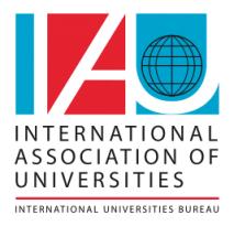 International Association of Universities SOS International survey partner