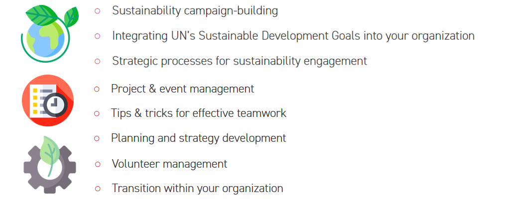 SOS International workshops topics