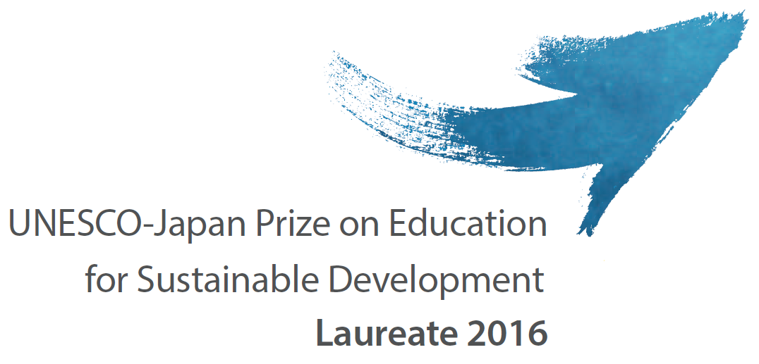 UNESCO-Japan Prize on Education for Sustainable Development Laureate 2016 Green Impact